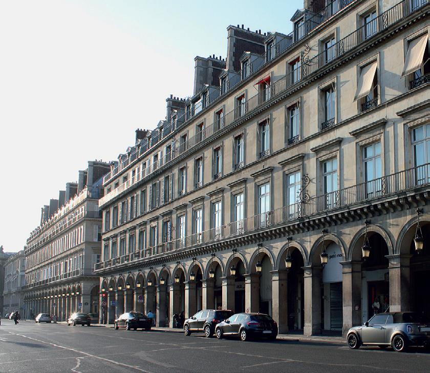 La rue de Rivoli, une architecture impériale