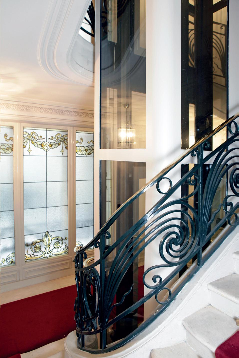Luxe, verre et modernité