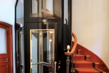 Ascenseur Haussmannien