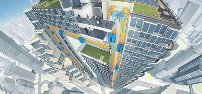 Ascenseur du futur : Découvrez les projets à venir