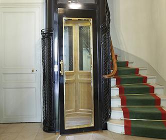 ascenseur art déco avenue kennedy