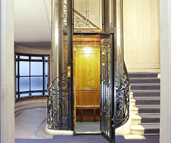 ascenseur haussmann